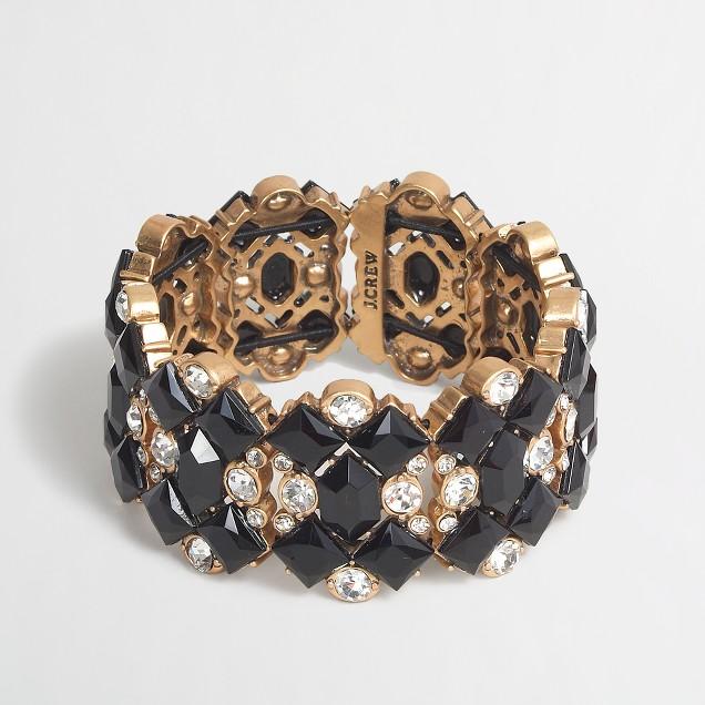 Factory stone links bracelet