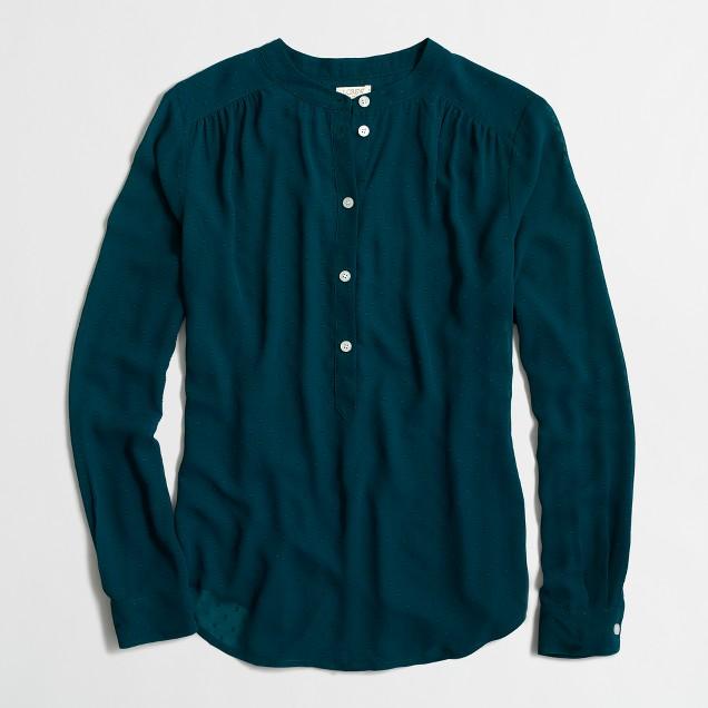 Dot-dash blouse
