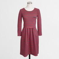 Pocket dress in stripe