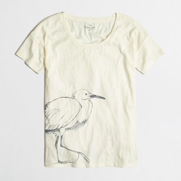 Egret collector T-shirt
