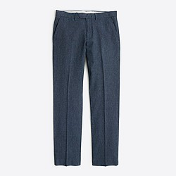 Bedford linen-cotton dress pant