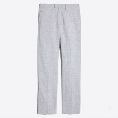 Bedford linen-cotton dress pant