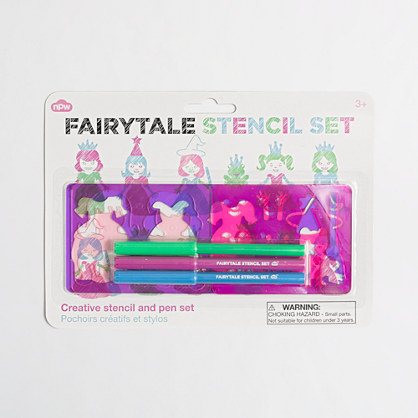 Girls' Natural Products Ltd.™ fairy tale stencils
