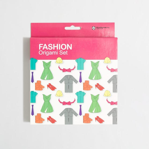 Girls' Natural Products Ltd.™ fashion origami set