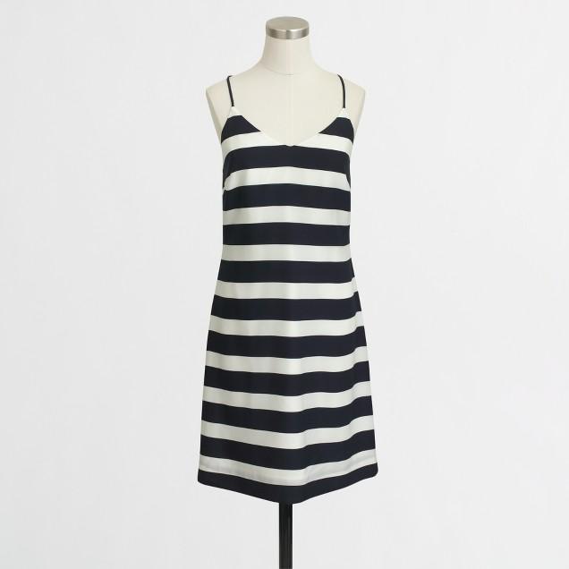 Printed tank dress