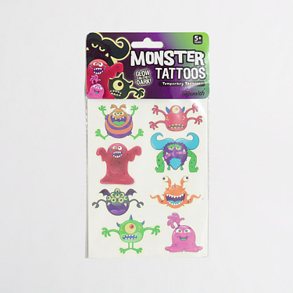 Boys' Toysmith™ monster glow tattoos