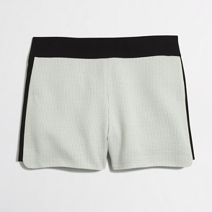 Pieced drapey short