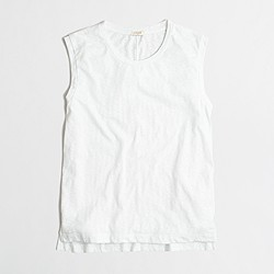 Factory drapey tank top