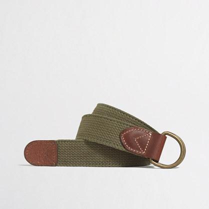 Double-sided webbing belt