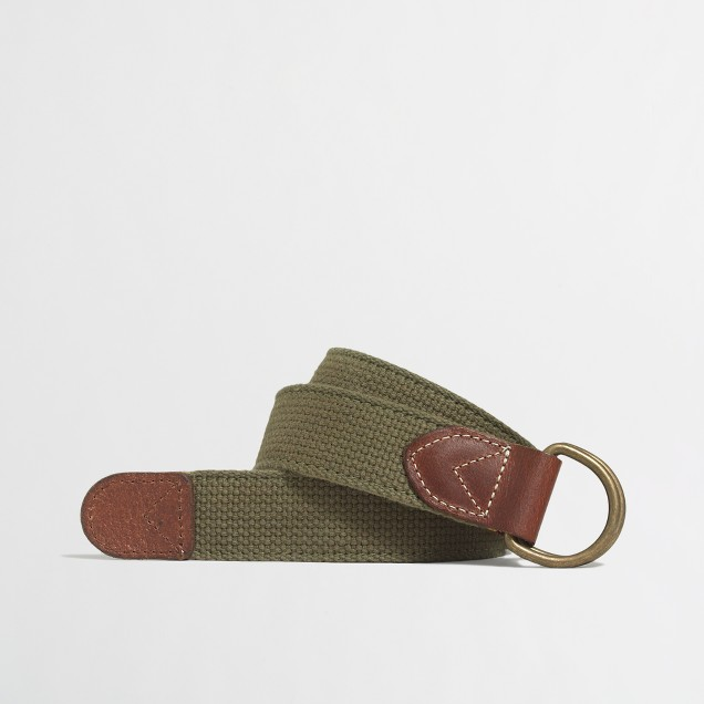 Double-sided webbing belt