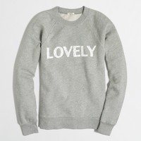 Lovely sweatshirt