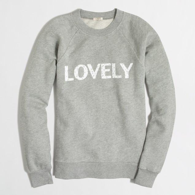 Lovely sweatshirt