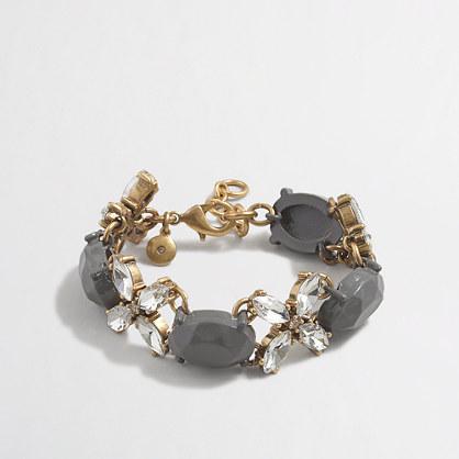Factory grey stone bracelet