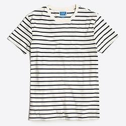 Slim deck-striped T-shirt