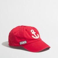 Boys' anchor baseball cap