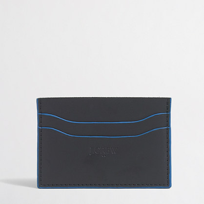 Tipped card case