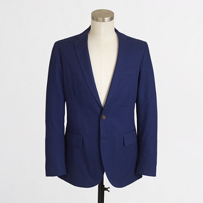 Thompson unconstructed sportcoat in open dot