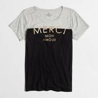 Merci mon amour collector t-SHIRT