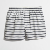 Horizontal-striped boxers