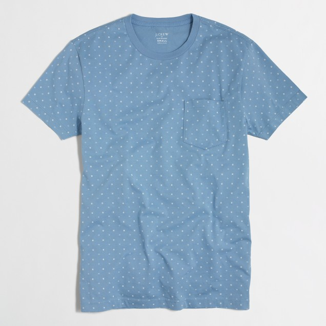 Slim pocket t-SHIRT in hashtag