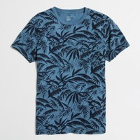 Slim palm leaves t-SHIRT