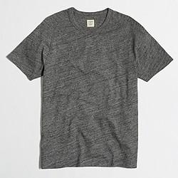 Factory slim marled cotton t-SHIRT