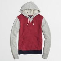 Colorblock popover hoodie