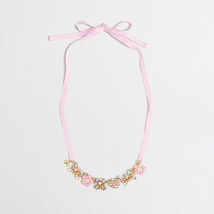 Girls' gem necklace