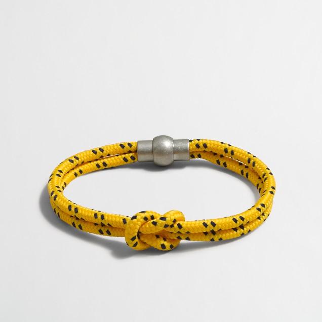 Knot cord bracelet