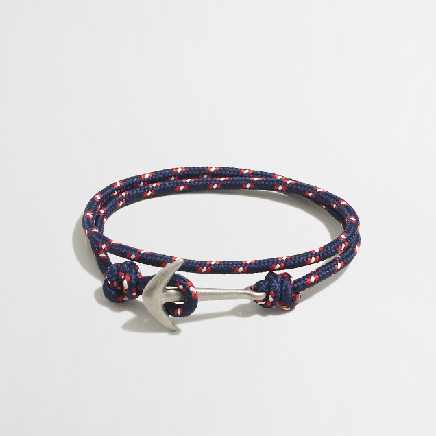 Lanyard wrap bracelet