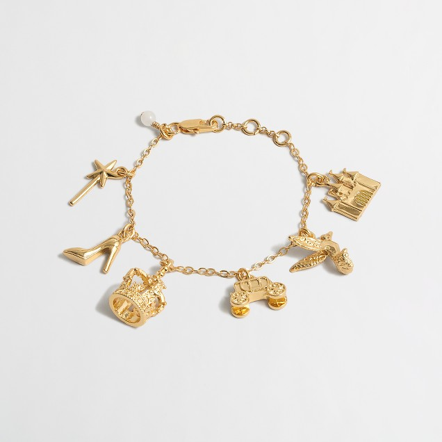 Girls' princess/fairy charm bracelet