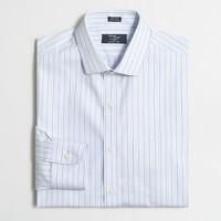 Wrinkle-free Voyager dress shirt in triple stripe