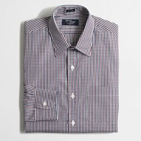 Thompson dress shirt in check