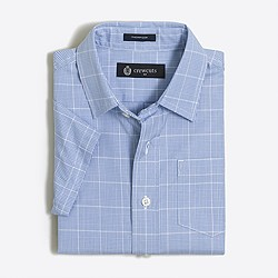 Boys' short-sleeve patterned Thompson shirt
