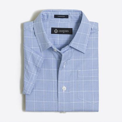 Boys' short-sleeve patterned Thompson shirt