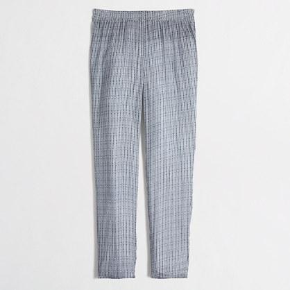 Printed drapey beach pant