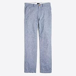 Sutton linen-cotton pant