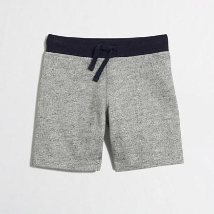 Boys' contrast waistband pull-on short
