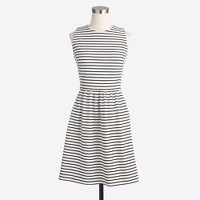 Petite striped daybreak dress