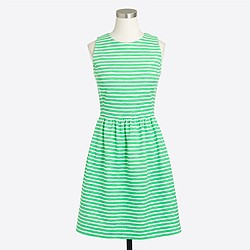 Striped daybreak dress