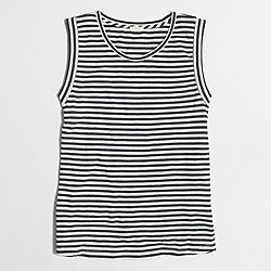 Factory striped tank top
