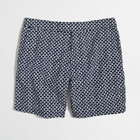 "7"" tab swim short in honeycomb"