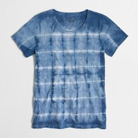 Tie-dyed collector T-shirt in airy cotton