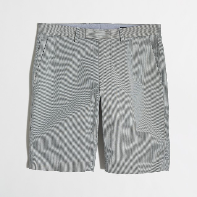 Slim dobby cotton Bedford short