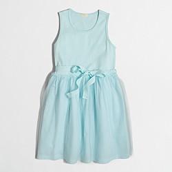 Factory girls' tulle dress