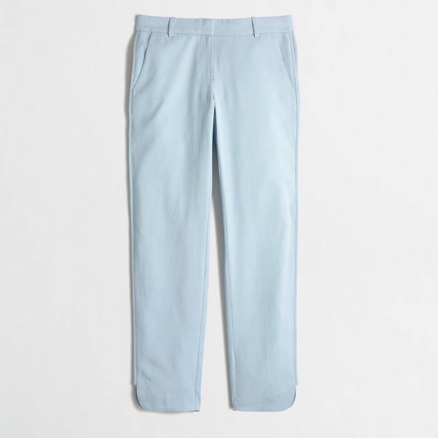 Petite cropped Tencel® pant
