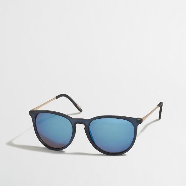 Matte translucent sunglasses