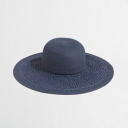 Factory textured summer straw hat