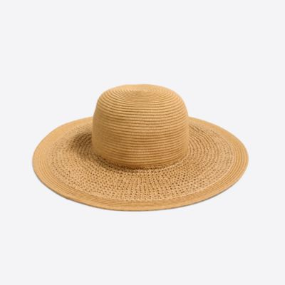 Textured summer straw hat factorywomen accessories c
