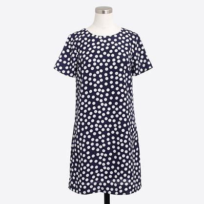 Printed short-sleeve gallery dress